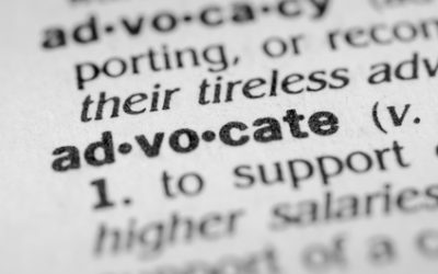 You Are An Advocate